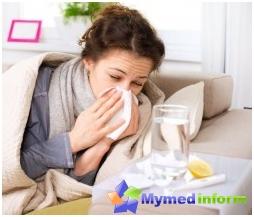 maladie virale, l'infection, la toux, le traitement des infections virales respiratoires aiguës, rhume, le SRAS, le rhume, la température