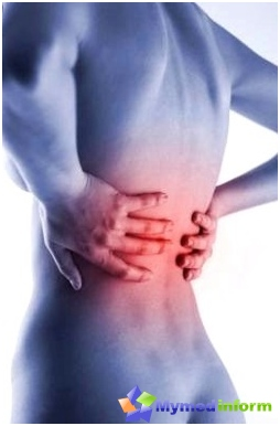Spinal hernia