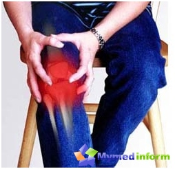 Osteoarthritis most commonly affects the knee and hip joints