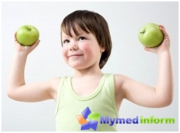 Complexes medical-improving physical education and balanced diet are an integral part of the rehabilitation treatment of sickly children