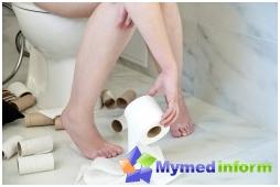 설사, 창자, 급성 장 감염, Enterofuril