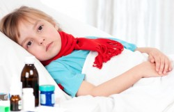 antipyretic, injection lytic mixture, the temperature rise, the temperature of the child
