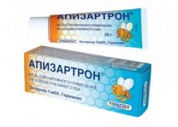 Апизартрон, бол, маст, Пчелињи отров, зглобови