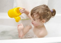 air baths, hardening, tempering water, tempering children, healthy lifestyle, health, immunity