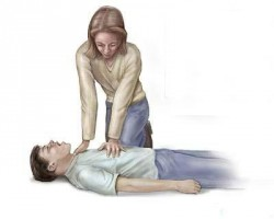 artificial respiration, heart massage, chest compressions, first aid, heart