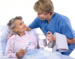 patient hygiene, patient lying, treatment of bedsores, pressure sores, decubitus prevention, care for immobile patients