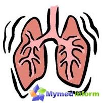 Główne objawy ropień płuca