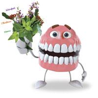 Un zâmbet merge tot ... oricine dintii si gingiile sanatoase
