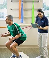 Rehabilitation nach Verletzungen 2