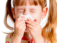 prevenção da otite média em crianças aprendendo a fundir corretamente seu nariz