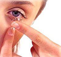 ceratite e lentes de contato