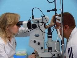 Miopia: interferência de laser