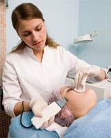 De behandeling met ultrageluid