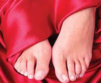 The causes and mechanism of development of diabetic foot