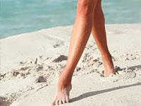 Olímpico salud del pie
