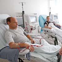 patients hémodialysés souffrant d'insuffisance rénale chronique