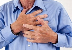 Self cough at the first sign of myocardial infarction. Do not risk your life!