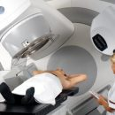 Radiation therapy or radiotherapy with bowel cancer