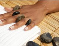 Piedra de masaje terapia de piedras curativas