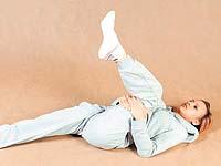 Übung für Arthrose des Kniegelenks empfohlen