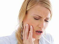 arthrosis of the temporomandibular joint to the dentist