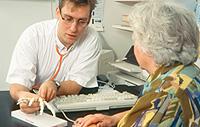 Diagnose der rheumatoiden Arthritis