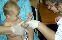 Painful procedures for patients with Hunter syndrome - IV access and blood sampling