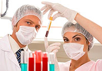 Como evidenciado pelos glóbulos brancos elevados no sangue