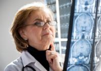 A brain tumor