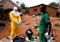 Området for distribusjon av Ebola