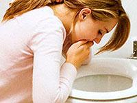 Akute Lebensmittelvergiftung. INFEKTIONEN