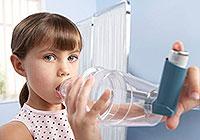 Allergisches Asthma bei Kindern