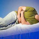 Verschlimmerung von Magengeschwür verursacht Symptome und Aktionen