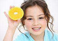 Manifestações de deficiência de vitamina na pele em crianças