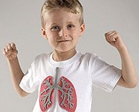removing the attack of bronchial asthma in children