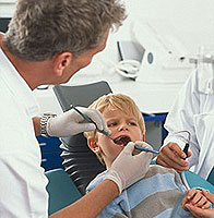 treatment of caries without a drill in children