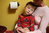 colite spasmodique chez un enfant