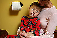 spastic colitis in a child