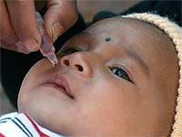 Polio-Epidemie Behandlung