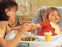 Falta de apetito del niño si éste ha cesado