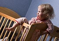 distúrbios do sono em razão da criança para a ação