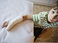 Barnas brukket arm: rehabilitering og omsorg