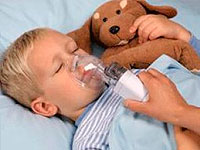 Cough with ARI in children: domestic inhalers
