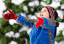How to organize the New Year's holiday for a child