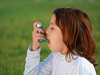 Educational program parents of asthma therapy in children