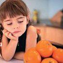 Food alérgica a algum alimento há uma reação