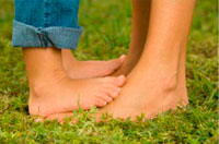 flat feet in children therapeutic exercises in a playful way