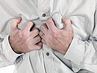 Anzeichen von Myokardinfarkt