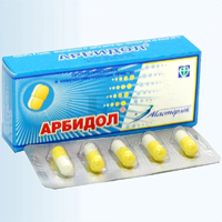 Arbidol odporny, ale traci