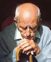 Le psychisme d'un homme âgé